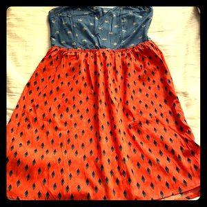 Beach Roxy dress, light, summery, fresh